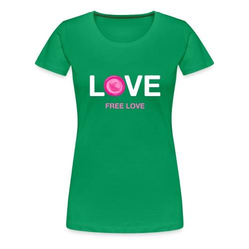 Free Love - Women's Premium T-Shirt