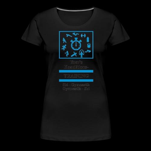 Skigymnastik - Frauen Premium T-Shirt