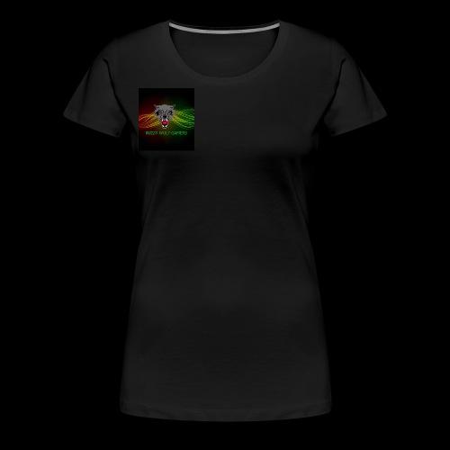 BuzzyWolfGamers - Women's Premium T-Shirt