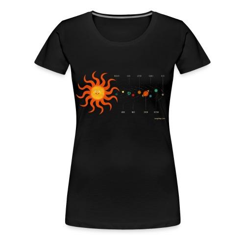 Solar System - Women's Premium T-Shirt