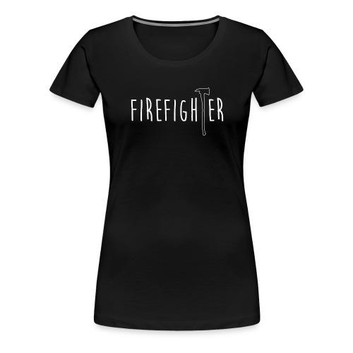Firefighter Axt - Weiß - Frauen Premium T-Shirt