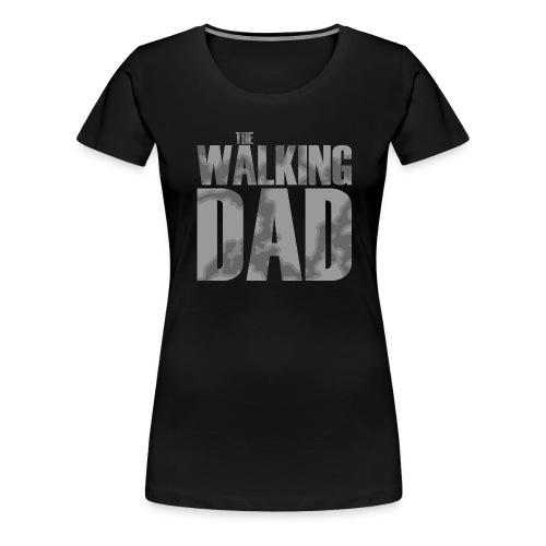 the walking dad - bright - Premium-T-shirt dam
