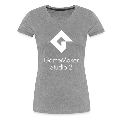 GMS2_Center_DblLine_Clean - Women's Premium T-Shirt