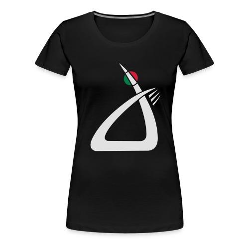logo w - Frauen Premium T-Shirt