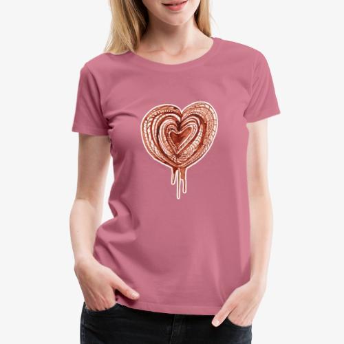 muscular pump transp - Women's Premium T-Shirt