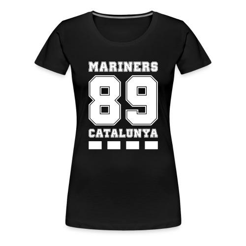 MarinersCatalunya White - Camiseta premium mujer