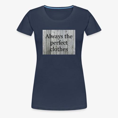 A81ED65F 5011 4ED7 ABAF 6415D7F5F822 - Vrouwen Premium T-shirt