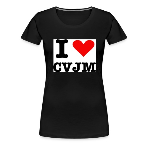 I love CVJM - Frauen Premium T-Shirt