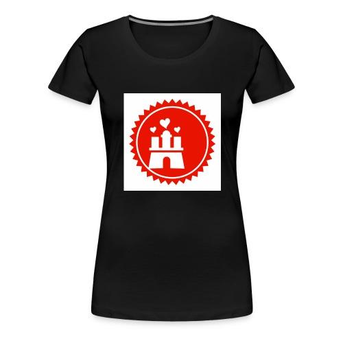 love hamburg - Frauen Premium T-Shirt