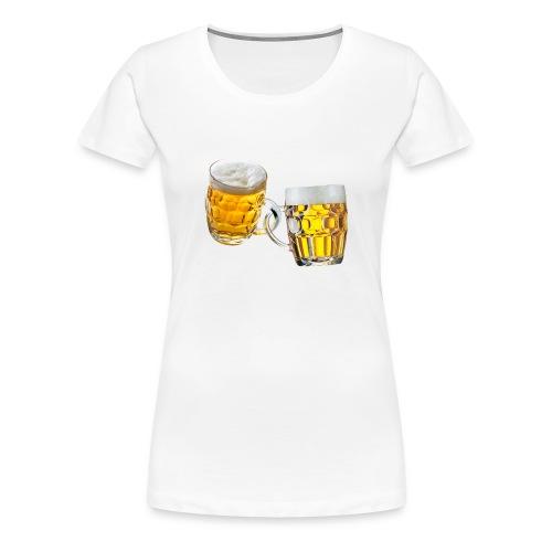 Boccali di birra - Maglietta Premium da donna