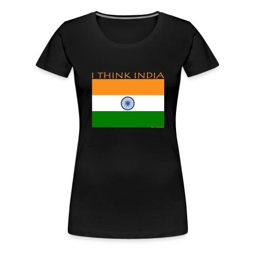 I THINK INDIA - Maglietta Premium da donna