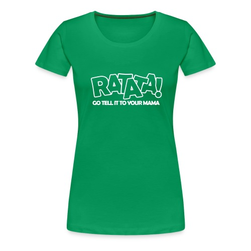 RATATA outline - Frauen Premium T-Shirt