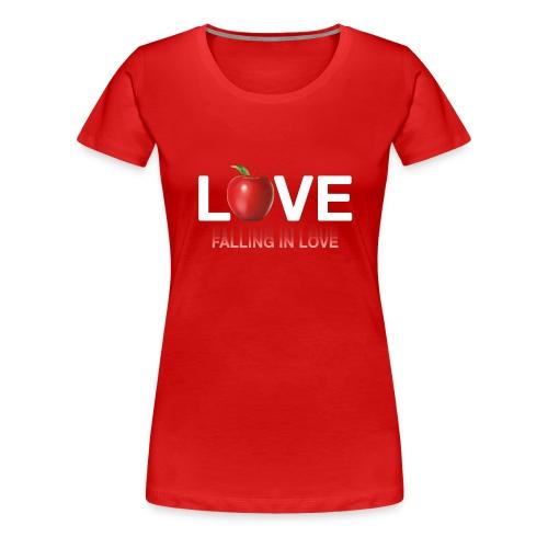 LoveLife Falling in Love - Women's Premium T-Shirt