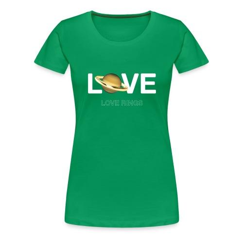 Love Rings - Women's Premium T-Shirt