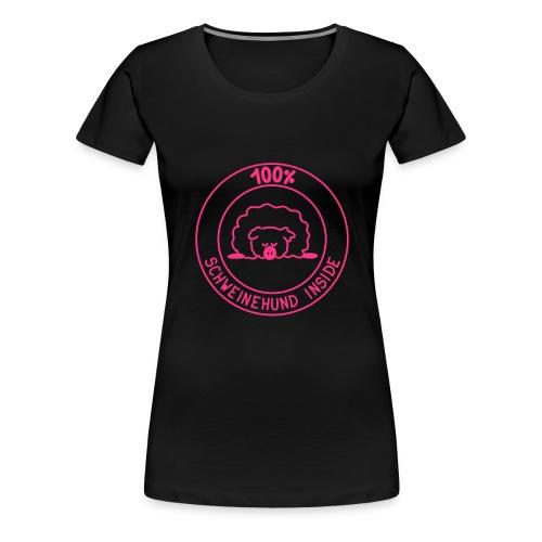 Schweinehund inside - Frauen Premium T-Shirt