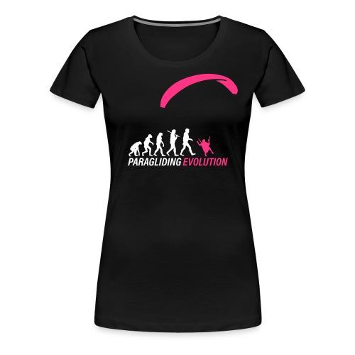 Paragliding Evolution - Frauen Premium T-Shirt