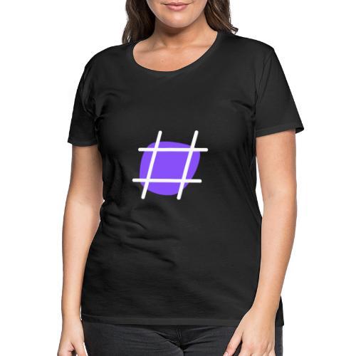 Cool Hashtag - Frauen Premium T-Shirt