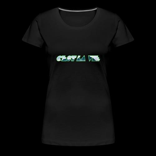 C'est la vie - Dame premium T-shirt