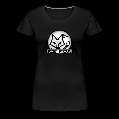 Ice Fox Logo - Vrouwen Premium T-shirt
