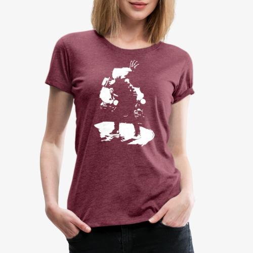 Johannes Oerding Silhouette - Frauen Premium T-Shirt