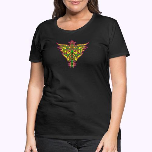 Maori Feuervogel - Frauen Premium T-Shirt