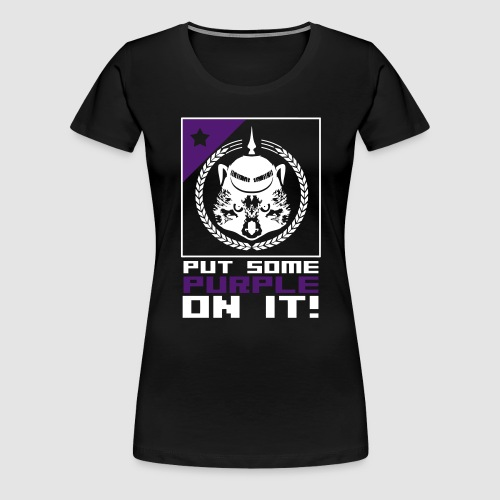 purple - Frauen Premium T-Shirt