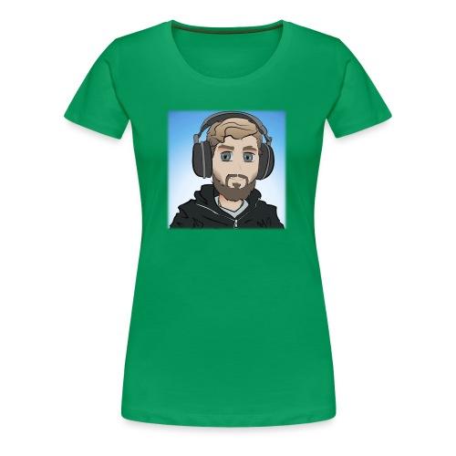 KalzAnimated - Dame premium T-shirt