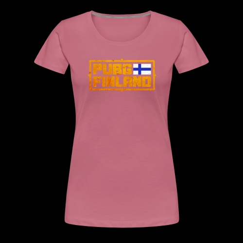PUBG Finland - Naisten premium t-paita