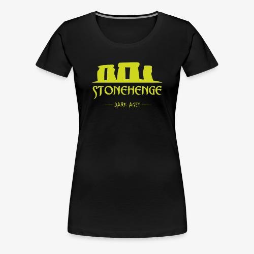 STONEHENGE - Maglietta Premium da donna