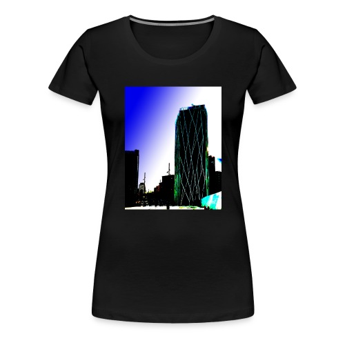 Abstract Barcelona mug - Women's Premium T-Shirt
