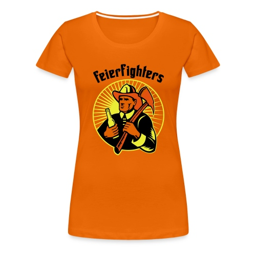 feierfighters - Frauen Premium T-Shirt