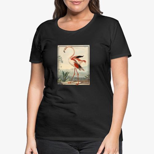 The Flamingo - Premium-T-shirt dam