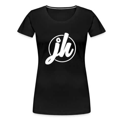 Jugend Heepen Logo Groß Weiß - Frauen Premium T-Shirt