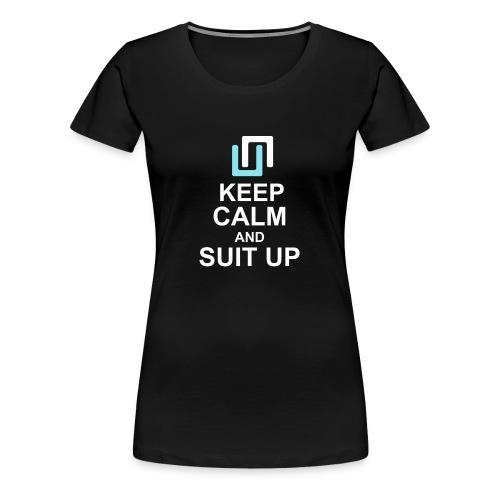 Neon Suit Up - Women's Premium T-Shirt