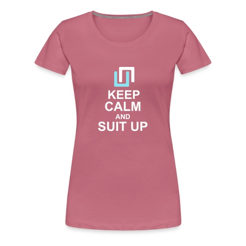 Neon Suit Up - Women's Premium T-Shirt