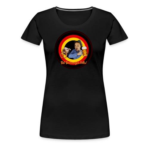 Get Germanized Looney - Frauen Premium T-Shirt