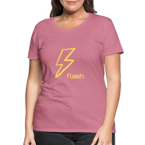 Flash - Dame premium T-shirt