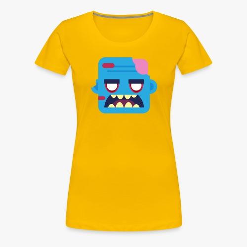 Mini Monsters - Zombob - Dame premium T-shirt