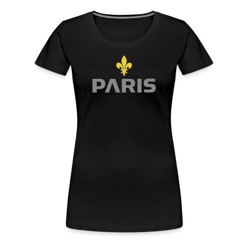Paris Grey Lys Concept - T-shirt Premium Femme