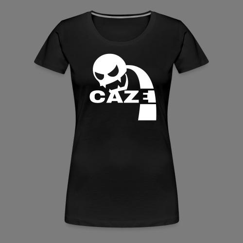 CazeLogoW png - Frauen Premium T-Shirt