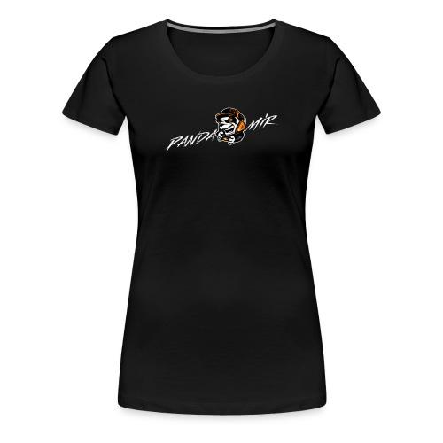 Logo & Schrfit - Frauen Premium T-Shirt
