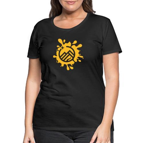 LogoSplash - Frauen Premium T-Shirt