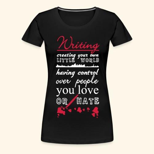 Writing - Women's Premium T-Shirt