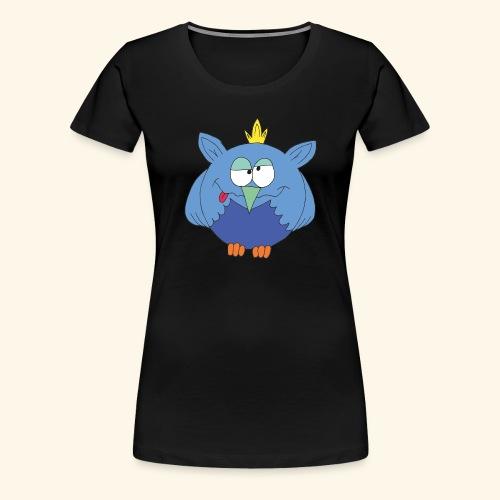 Fuzzy T-Shirt gelb - Frauen Premium T-Shirt