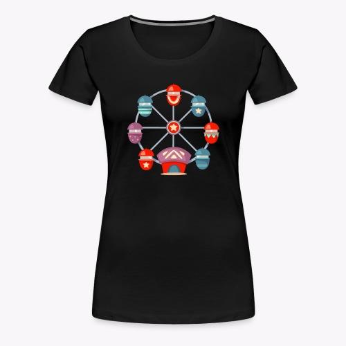 Ferris Wheel - Women's Premium T-Shirt