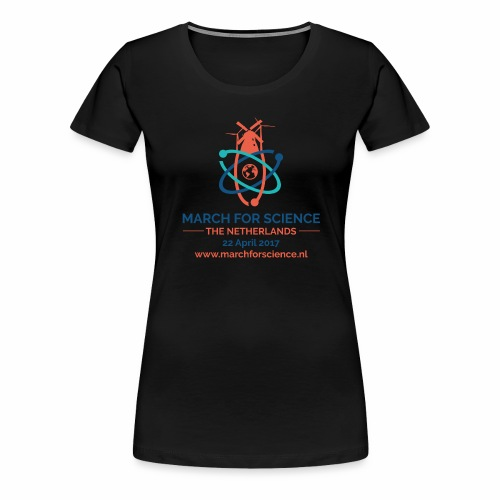 MfS-NL logo light background - Women's Premium T-Shirt