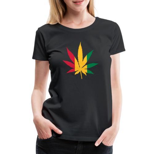 Cannabis Rastafari - Frauen Premium T-Shirt