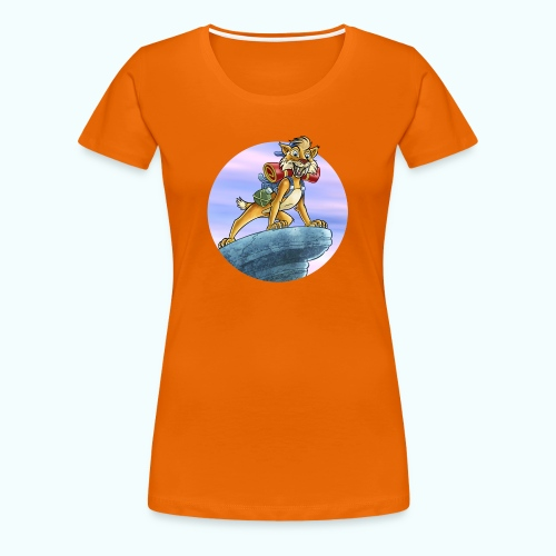 Smilodon - Women's Premium T-Shirt