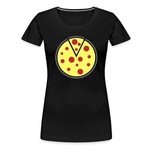 Pizza Shirt - Frauen Premium T-Shirt