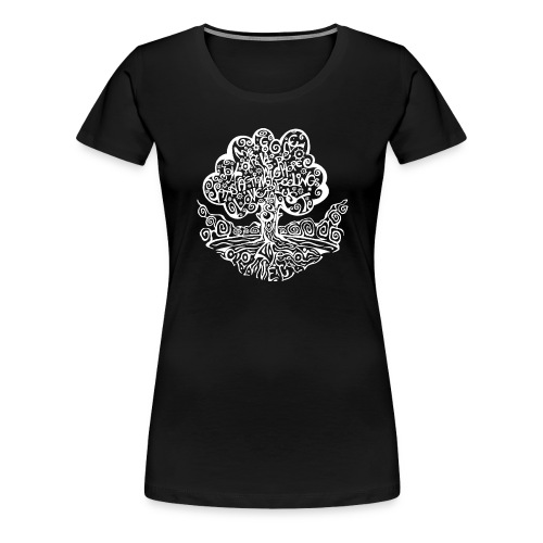 Tree of my Life 2 - Frauen Premium T-Shirt